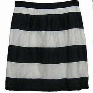 NWOT | LOFT | Striped Skirt